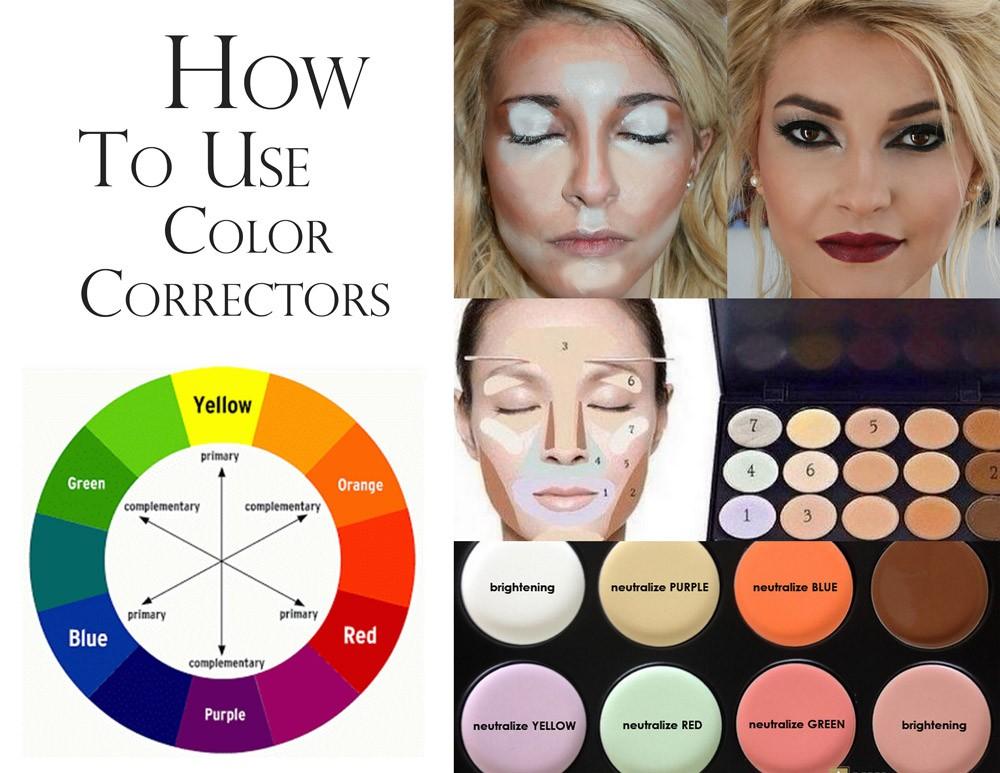 Палитра цветов для макияжа как пользоваться