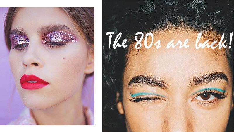 80s makeup trend