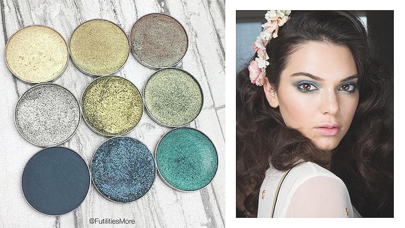 green trend 2017 makeup