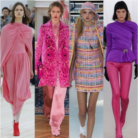 pink 80's fashion